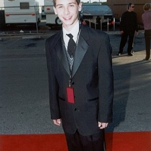 Justin Berfield at Hollywood Reporter YoungStar Awards, 2000