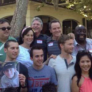 Cast of Malcolm in the Middle with creator Linwood Boomer reunion party! 20
