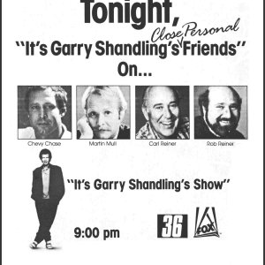 "Garry Shandling, ""TV Guide"" magazine ad, April 29, 1989"
