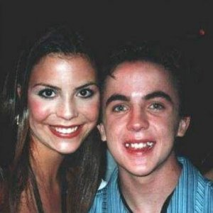 "Frankie Muniz backstage at ""All That"" with Chelsea Brummet"