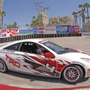 29th Annual Toyota Pro/Celebrity Race - Race Day