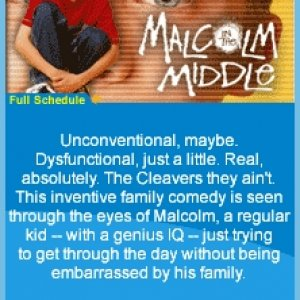Malcolm in the Middle KEJB TV channel advertisement