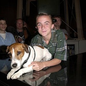Frankie Muniz at 19th Annual VSDA Convention promoting 'My Dog Skip'