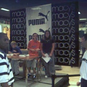 Frankie and Erik at the signing session at Macy's