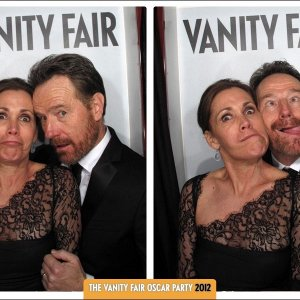 Bryan Cranston and wife Robin Dearden at the 2012 Vanity Fair Oscar Party