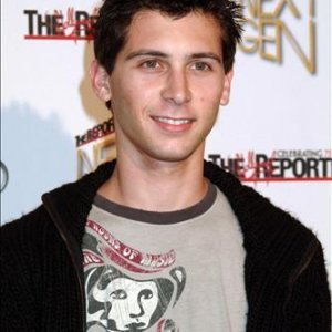 Justin Berfield at The Hollywood Reporters Next Generation Party