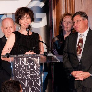 Jane Kaczmarek at Union Station Homeless Benefit Dinner 2011