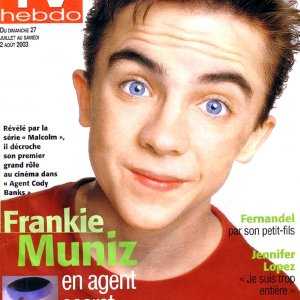 "French ""TV Hebdo"" magazine, July 27, 2003"