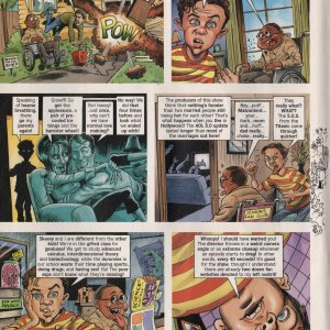 Malcolm in the Middle Cartoon - MAD Magazine Page 2