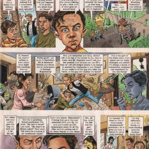 Malcolm in the Middle Cartoon - MAD Magazine Page 3