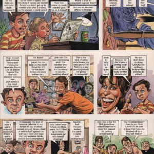 Malcolm in the Middle Cartoon - MAD Magazine Page 5