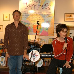 Jane Kaczmarek and Bradley Whitford Launch A World Of Happiness CD