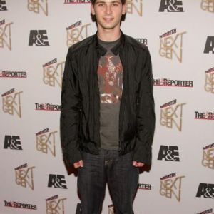 Justin Berfield at The Hollywood Reporter's Next Generation Party