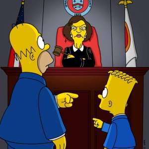 Jane Kaczmarek voiced a judge in episodes of 'The Simpsons' (2001-)