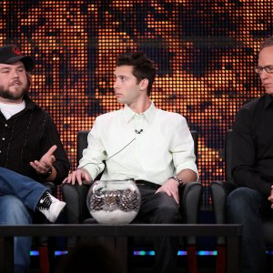 Justin Berfield and Todd Holland at 2010 Winter TCA Tour