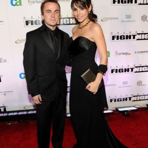 Frankie Muniz and Elycia Marie at Celebrity Fight Night XVI