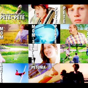 'Adventures of Pete & Pete' title sequence collage