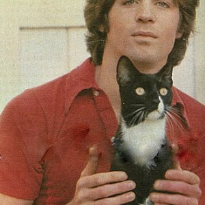 Linwood boomer with hes cat ...?