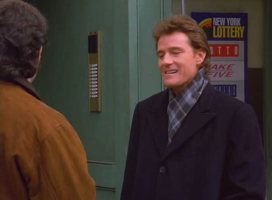 Bryan Cranston in 'Seinfeld' (1995) - Malcolm in the ...