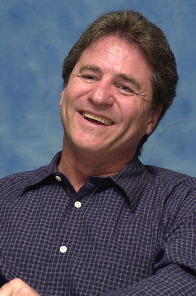 Linwood Boomer at 2001 Press Conference