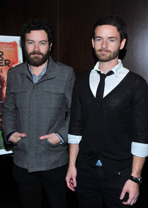 Chris and Danny Masterson at a premiere in 2009