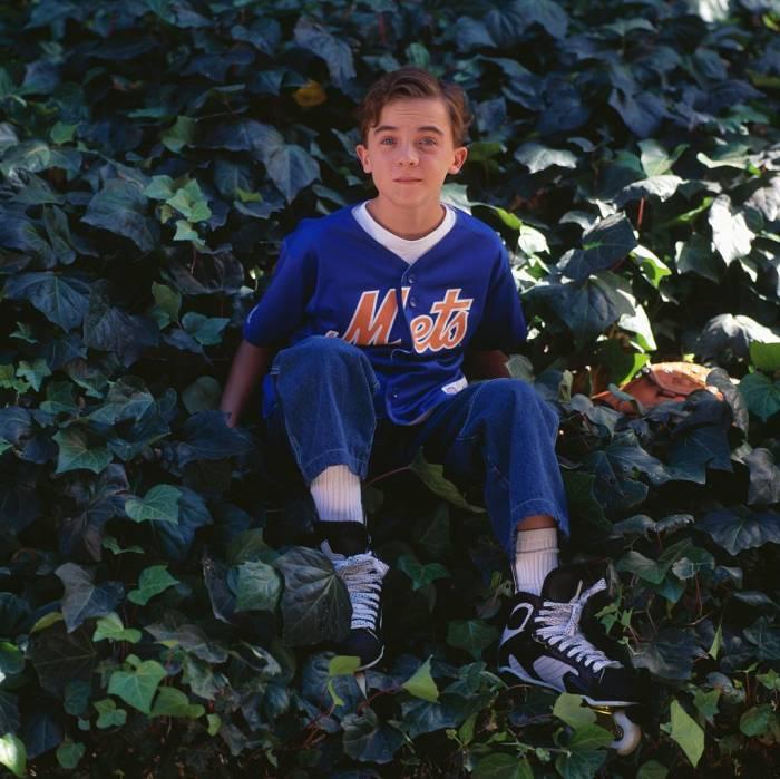 Frankie Muniz - New York Mets shirt