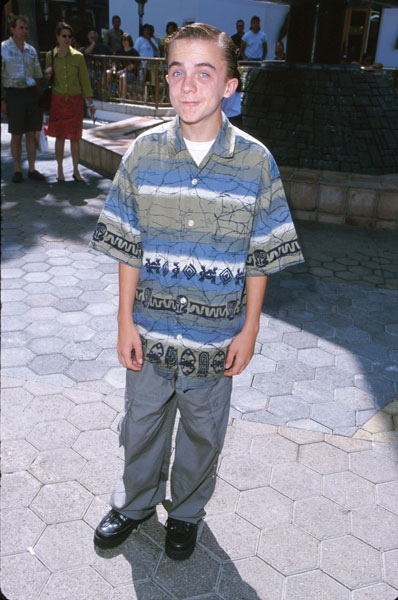 Frankie at 'The Adventures of Rocky & Bullwinkle' premiere, June 2000