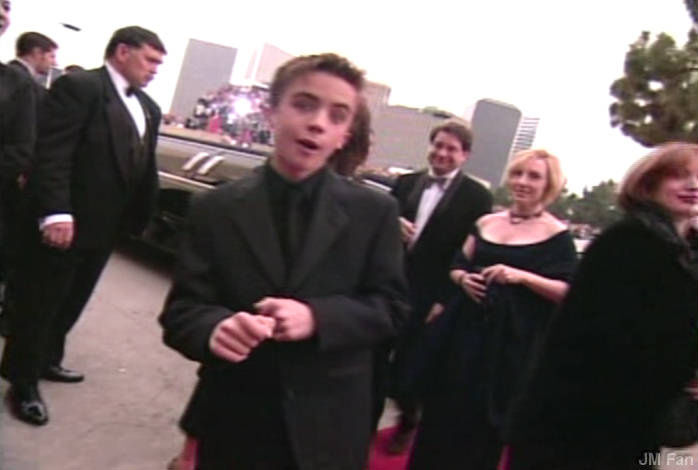 Frankie Muniz at the Golden Globe Awards (2001)