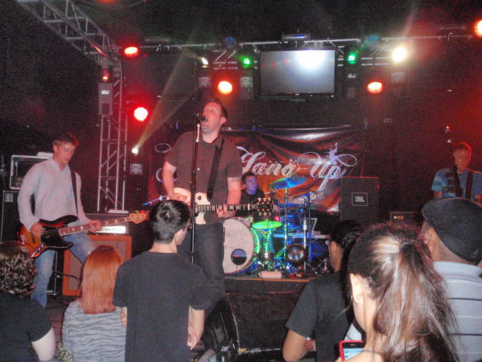 You Hang Up performing in September 2010
