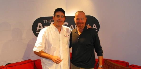 Bryan Cranston and Adam Carolla