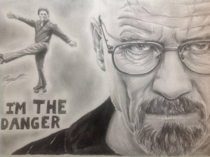 "Bryan Cranston: ""I'm the Danger"" by MauricioAAR"