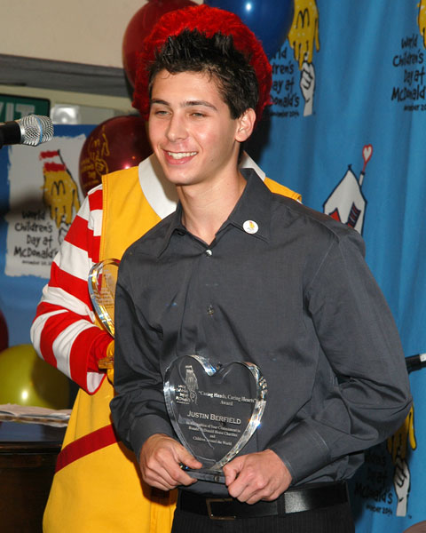 Justin Berfield At 2003 Mcdonald S World Children S Day Malcolm In The Middle Gallery Photos