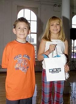 Erik Per Sullivan at the Kids R Us Fall 2002 Fashion Show