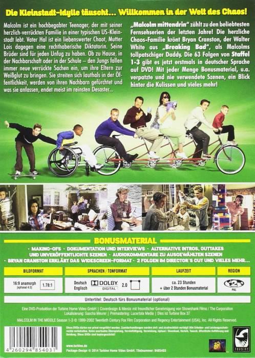 German Seasons 1-3 DVD Collector