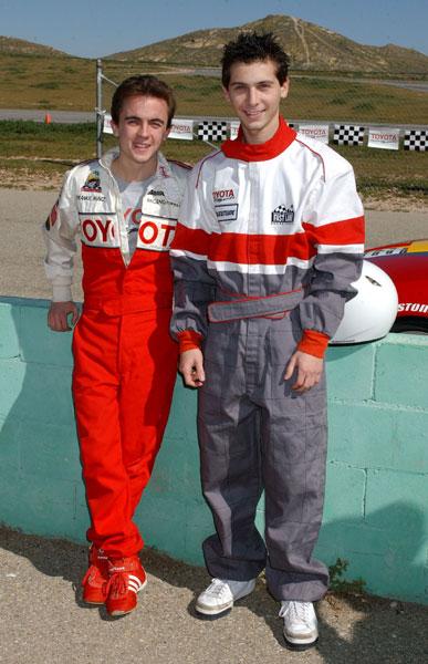 Toyota Pro/Celebrity Race Driver Training: Frankie Muniz ...