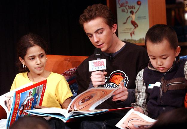 Frankie Muniz at NBA All-Star Read to Achieve Celebration