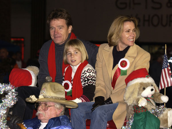 Bryan Cranston at the 2002 Blockbuster Hollywood Spectacular Parade