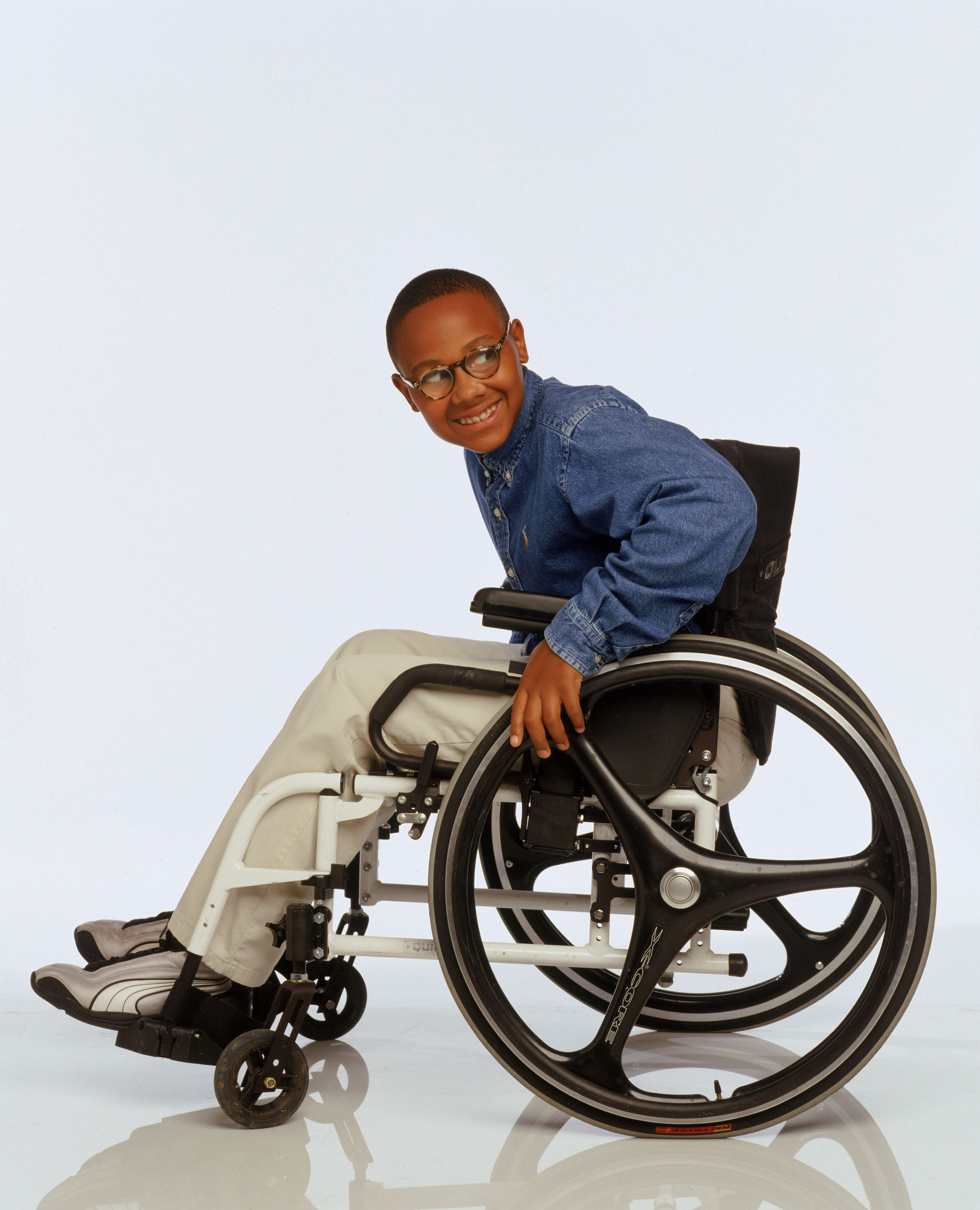 Black Wheelchair Kid Malcolm Middle