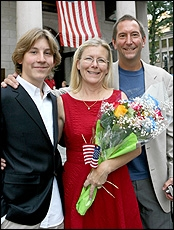 Erik Per Sullivan and Mom and Dad