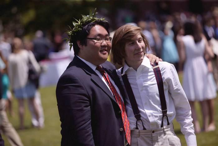 Erik Per Sullivan at High School Graduation
