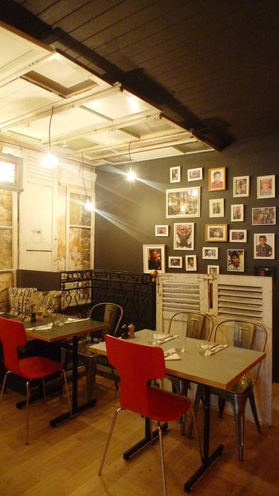 'Chez Dewey' bistro in Paris, France
