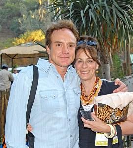 Bradley Whitford with Jane Kaczmarek