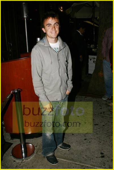 Frankie Muniz - at Hyde club