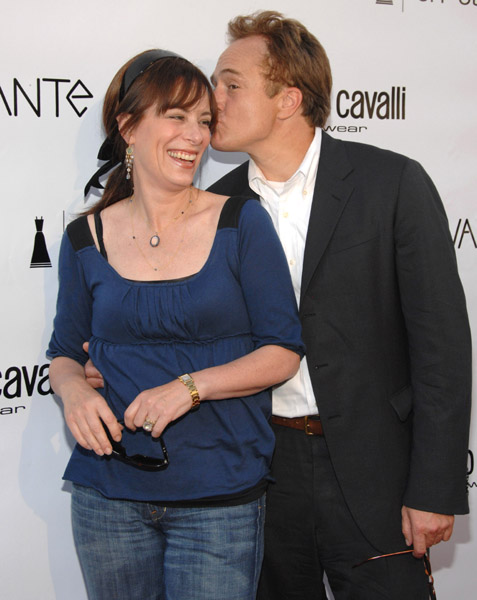 Jane Kaczmarek and Bradley Whitford at Davante Rodeo Drive Boutique Opening June 2007