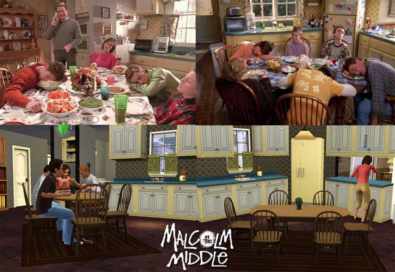The Wilkerson House Virtual 3d Recreation By Missroxor Malcolm In The Middle Vc Gallery Photos