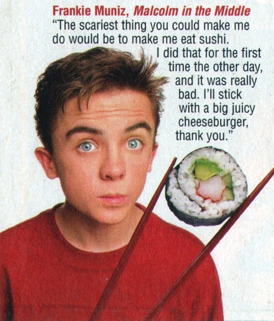 Frankie Muniz, unknown magazine, 2002 (?)