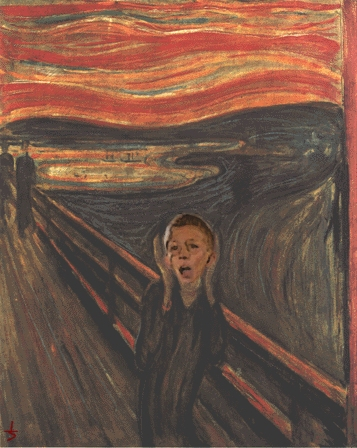 Edvard Munch  The Scream  painting parodyThe Scream Edvard Munch Parody