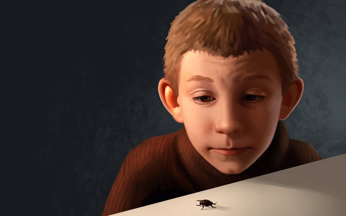 'Dewey and the fly' by Daniela Uhlig - Malcolm in the ...