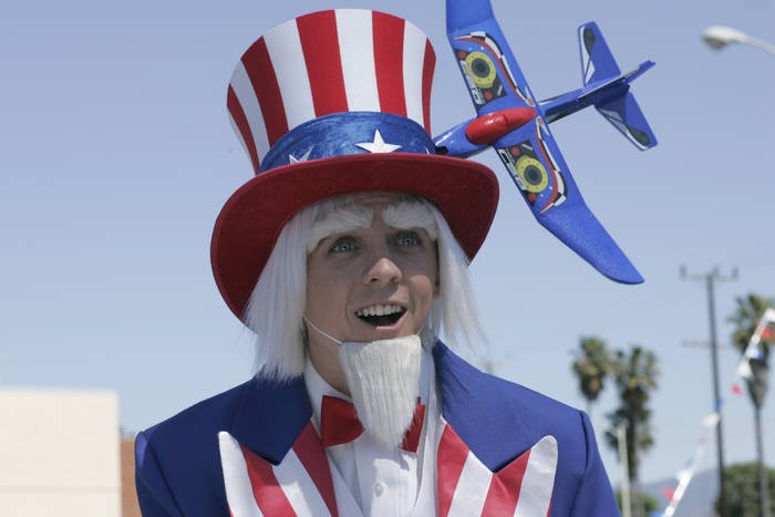 Frankie as Malcolm as Lucky Aide's Uncle Sam