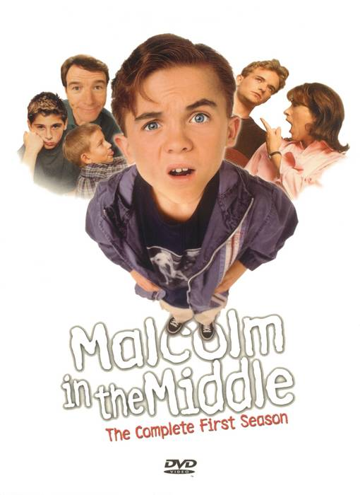 Malcolm in the Middle Season 1 DVD US Cover